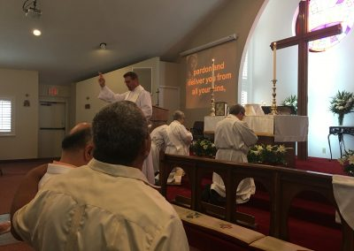 Blessing the Congregation